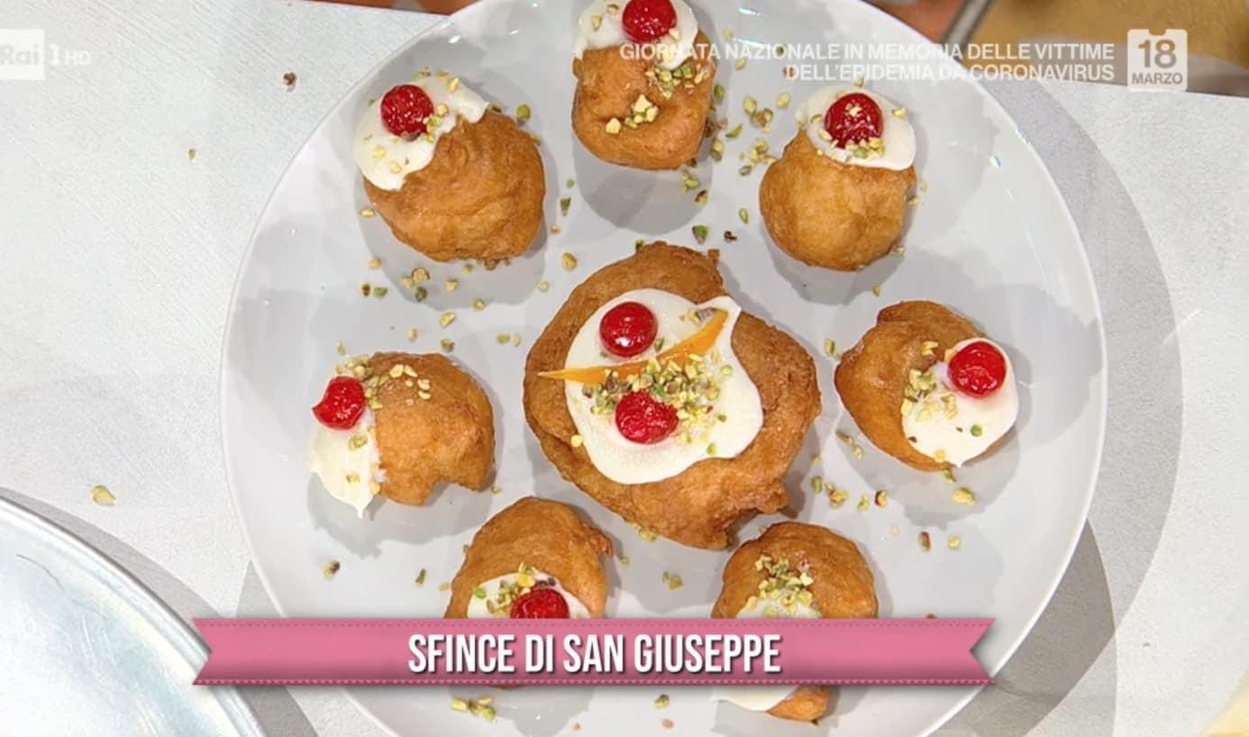 Sfince di San Giuseppe, la ricetta dolce di Fabio Potenzano