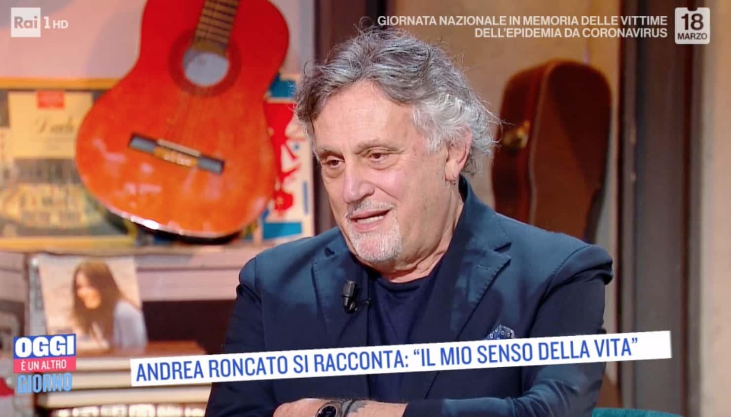 Andrea Roncato torna in tv e racconta degli eccessi e del senso della vita