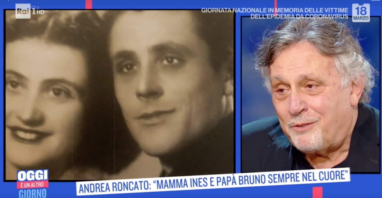 Il senso di colpa di Andrea Roncato quando è morto suo padre