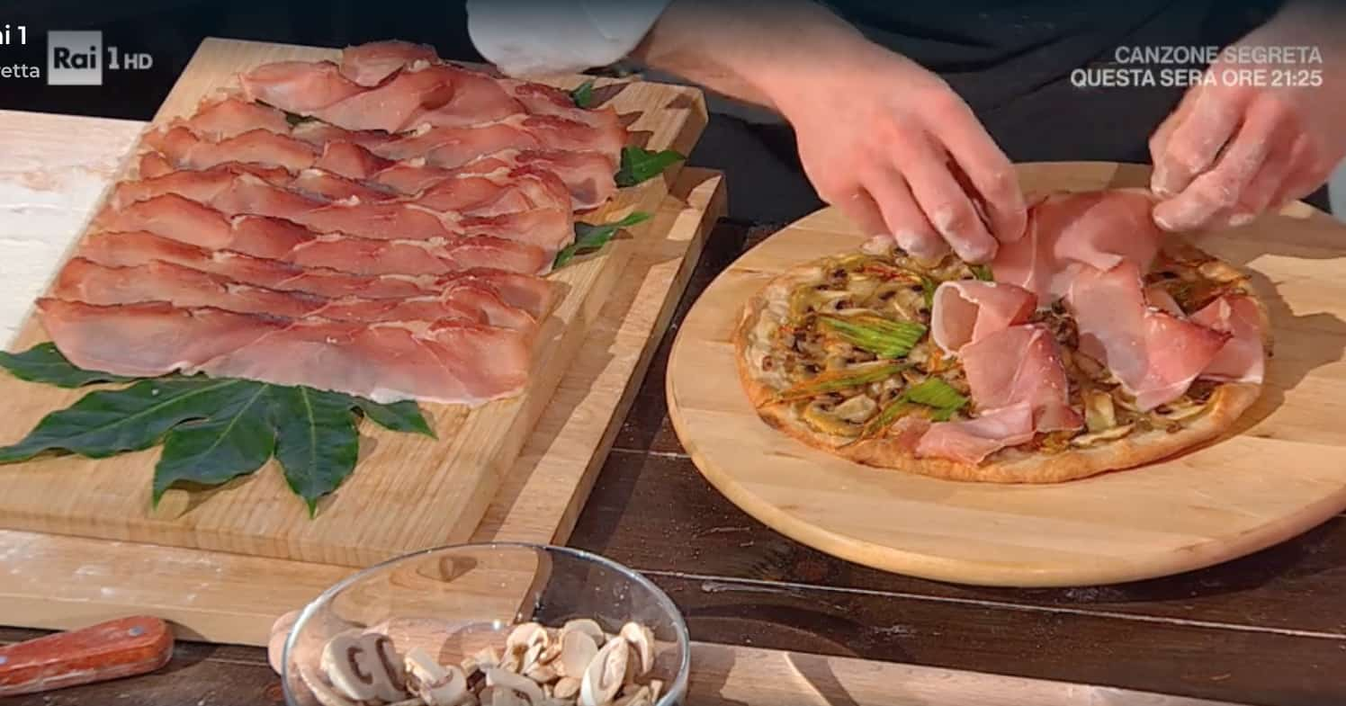 Pizze Fulvio Marino, la ricetta della pizza al mattarello farro e kamut