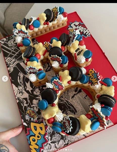 La torta di compleanno di Leone: Chiara Ferragni mostra la festa per i suoi tre anni (Foto)