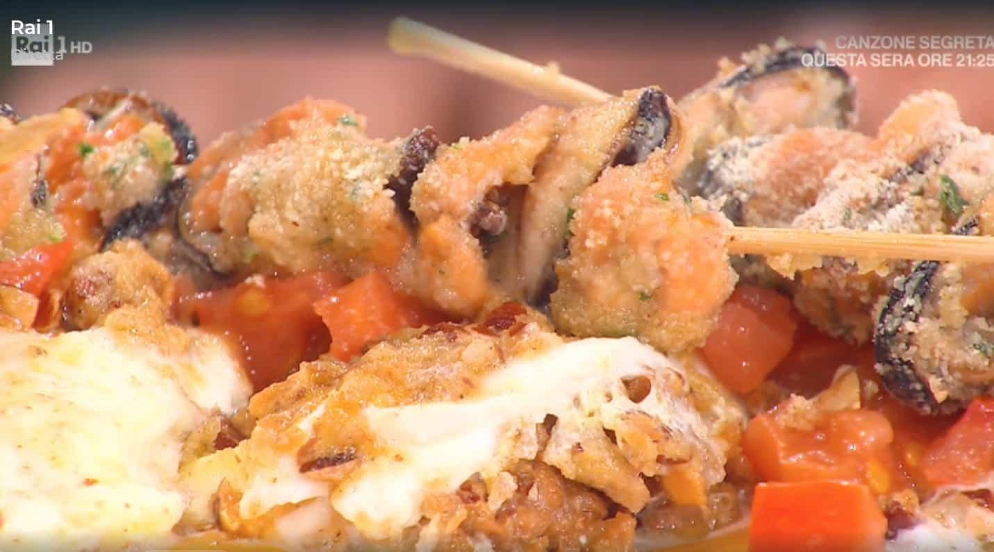 Anima e cozze, la ricetta con la mozzarella di Mauro Improta