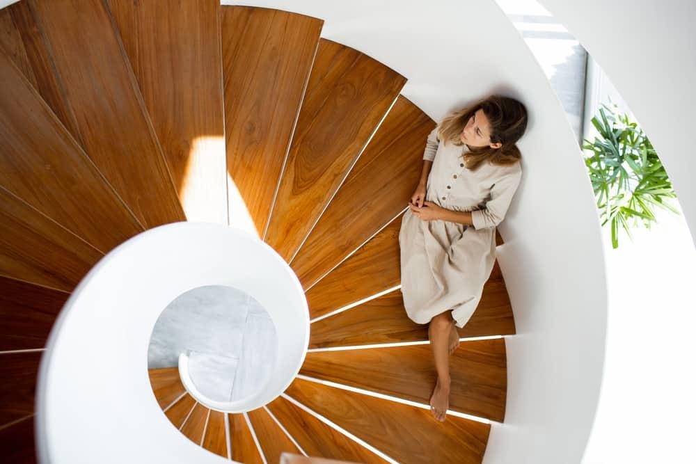 A proposito di scale a chiocciola in legno