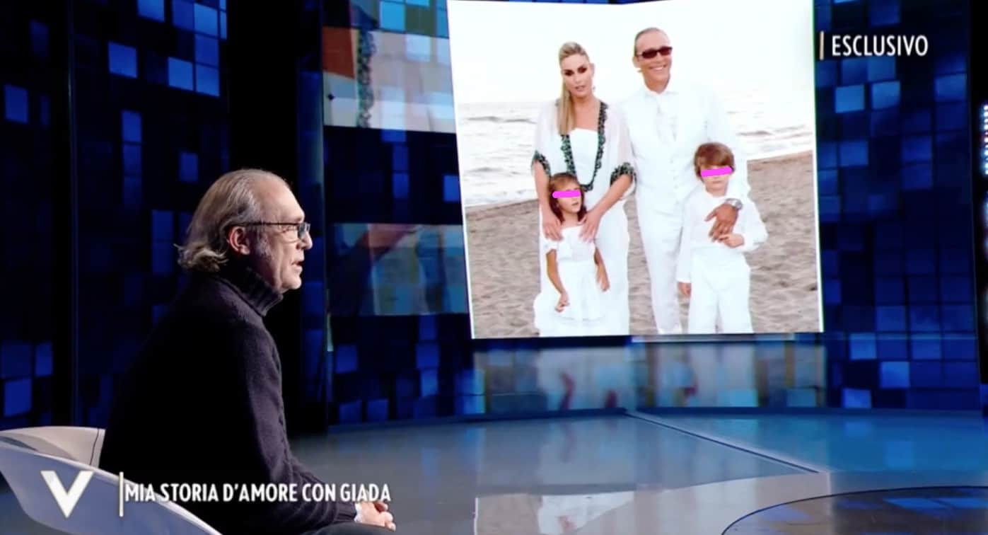 La malattia della figlia, Luca Ward ringrazia sua moglie: è stato difficile accettare