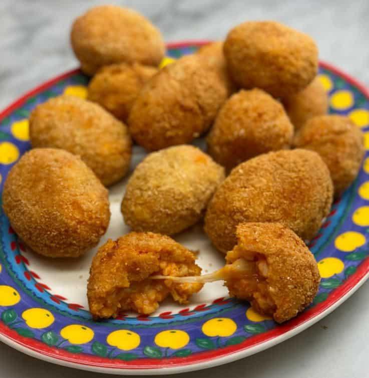 Dalla cucina di Benedetta Parodi la ricetta dei supplì di Fabio