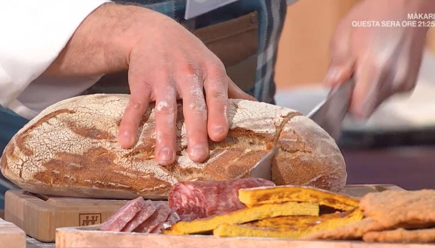Ricette Fulvio Marino, pane di Terni con poco sale