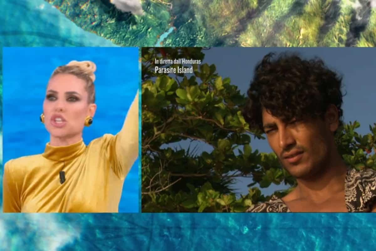L'Isola dei Famosi 2021, Ilary Blasi sbotta su Akash Kumar: 'Prendi il sacchetto, torna in Italia'