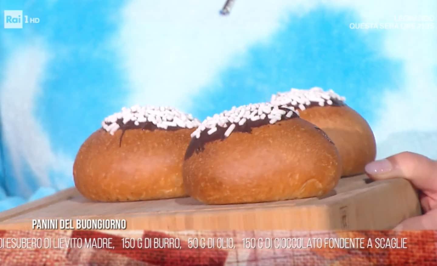 Panini dolci del buongiorno, la ricetta di Fulvio Marino