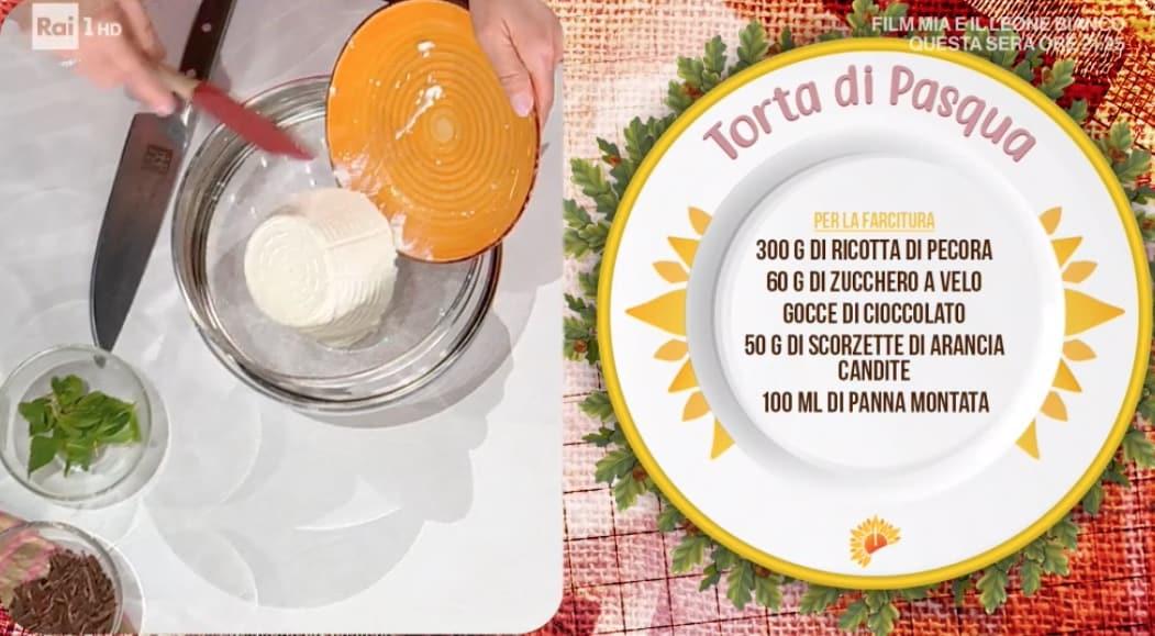 Torta di Pasqua, la ricetta di Natalia Cattelani, il dolce che possiamo congelare