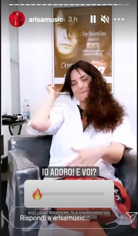 Arisa cambia look e Andrea Di Carlo sembra dedicarle una canzone (Foto)