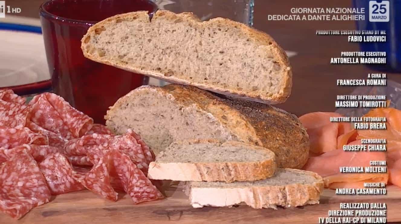 Pane divino, ricetta di Fulvio Marino del pane con le erbe