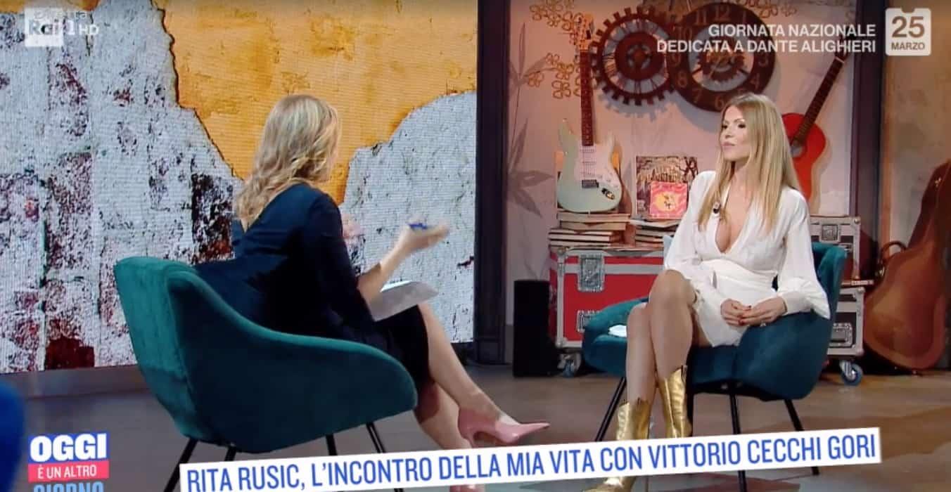 """Rita Rusic di nuovo distante da Cecchi Gori: """"Non sopporto la sua freddezza negli occhi"""" (Foto)"""