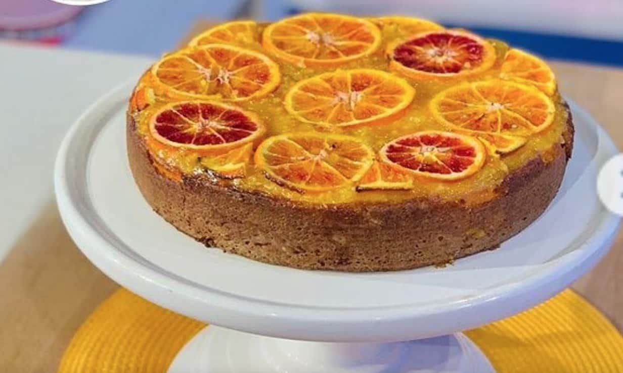 Torta alle arance, la ricetta di Luca Perego
