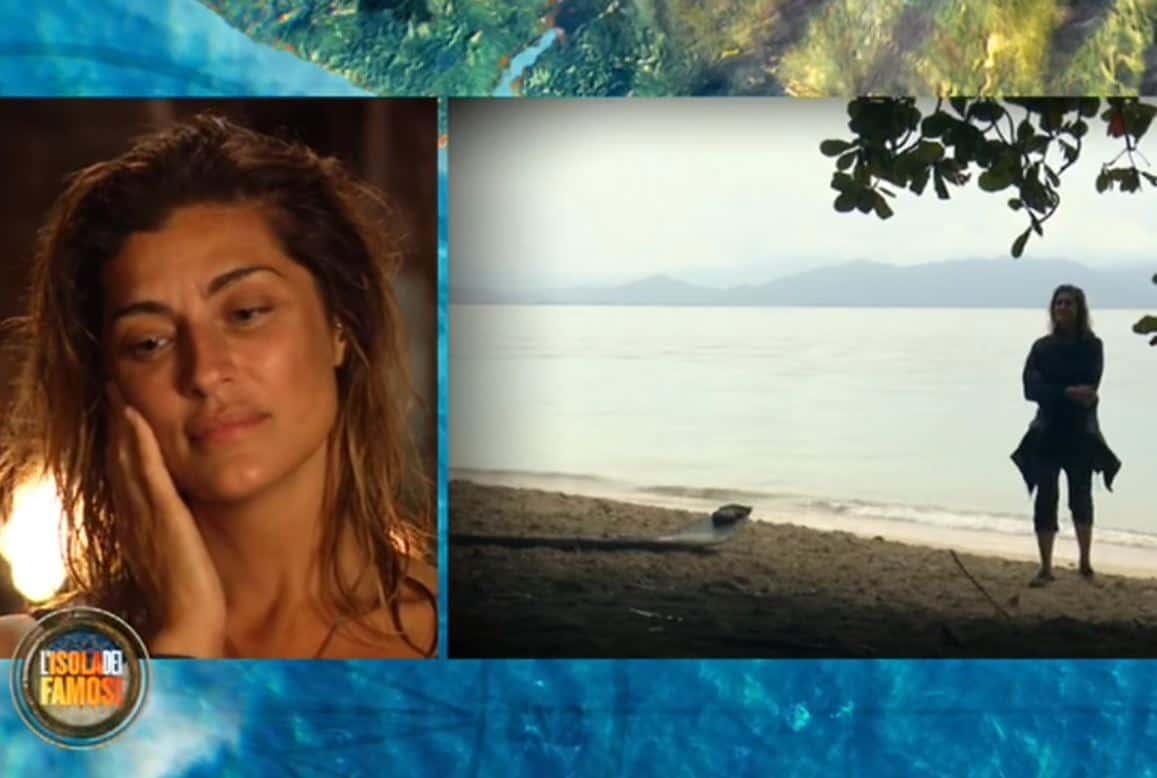 Le lacrime di Elisa Isoardi per la sua mamma: dalle scuse al ti voglio bene