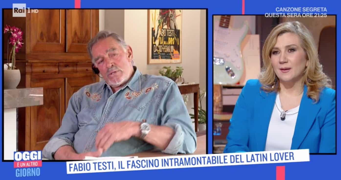 """Fabio Testi: """"Ricordatevi che il seno rifatto si sente"""""""