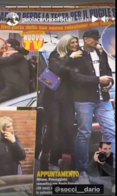 """Paola Caruso fidanzata con un pugile: """"Con me è molto timido"""" (Foto)"""