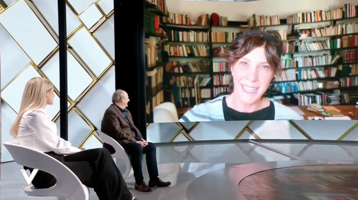 Maria Amelia Monti commuove Gerry Scotti con il suo messaggio a Verissimo