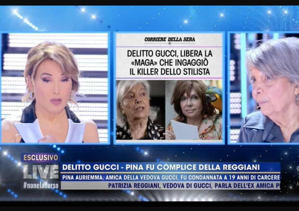 """Pina Auriemma a Live: """"Patrizia Reggiani una donna pericolosissima"""""""
