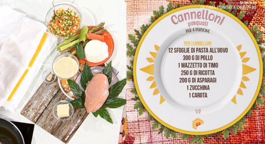 Cannelloni pasquali, la ricetta di Zia Cri per Pasqua
