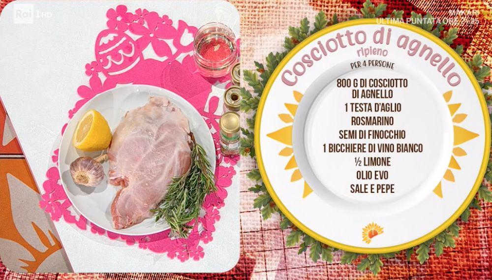 Cosciotto di agnello, la ricetta di Pasqua di Simone Buzzi