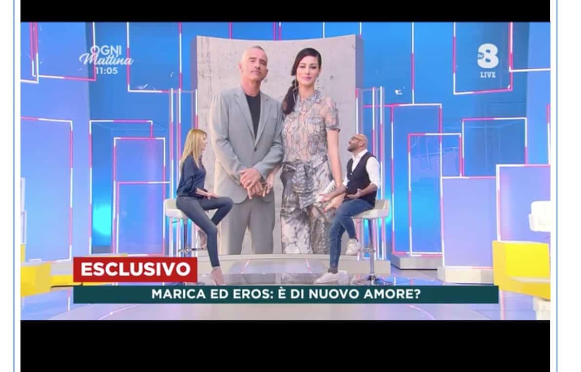 Eros e Marica Pellegrinelli sempre più vicini, è la rivelazione di Pirrotta (Foto e Video)