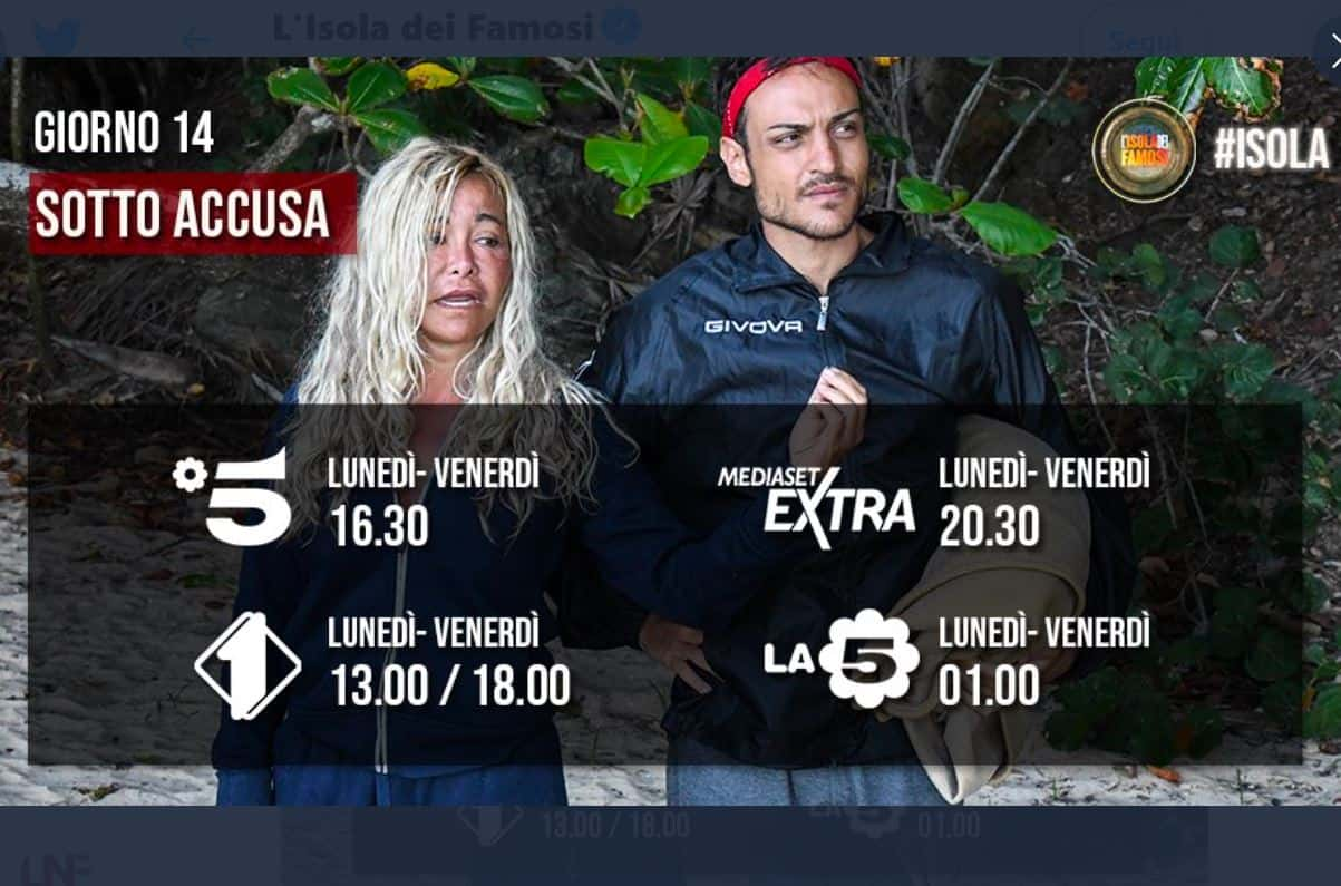 E' guerra sull'Isola: Awed e Gemma contro Gilles Rocca, chi uscirà?