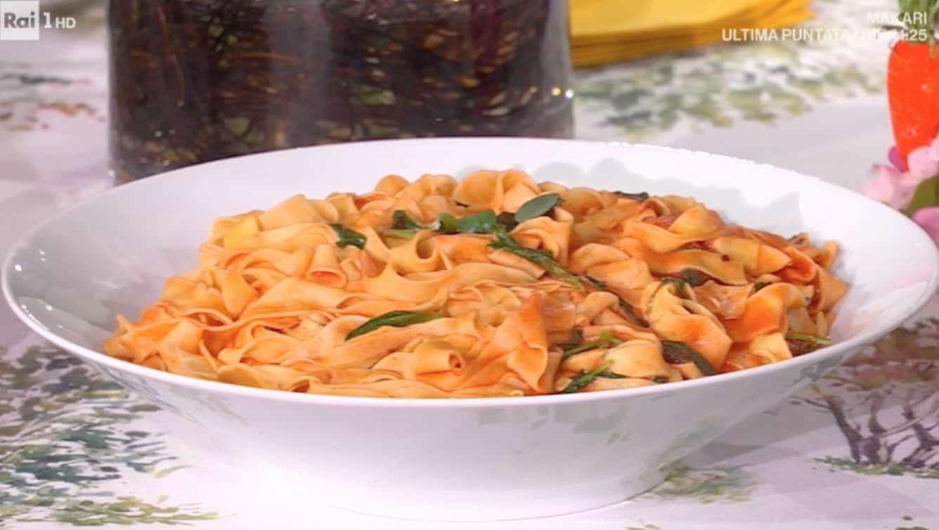 Tagliatelle con strigoli, la ricetta di Eleonora Matarrese e Zia Cri