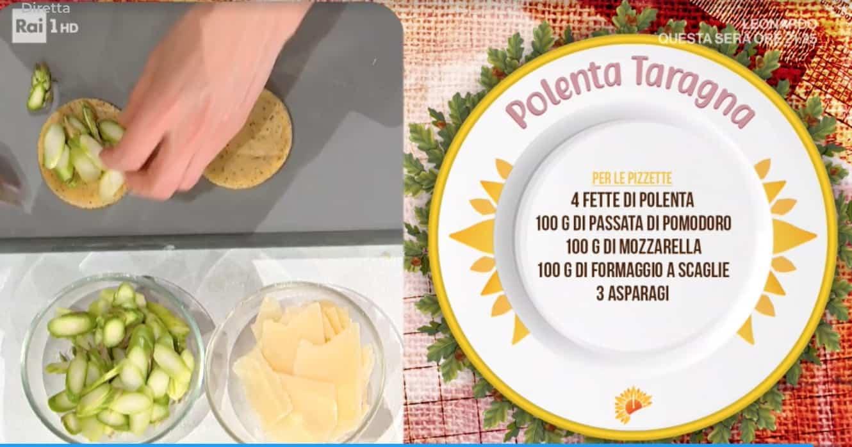 Polenta taragna e pizzette, le ricette di Francesca Marsetti