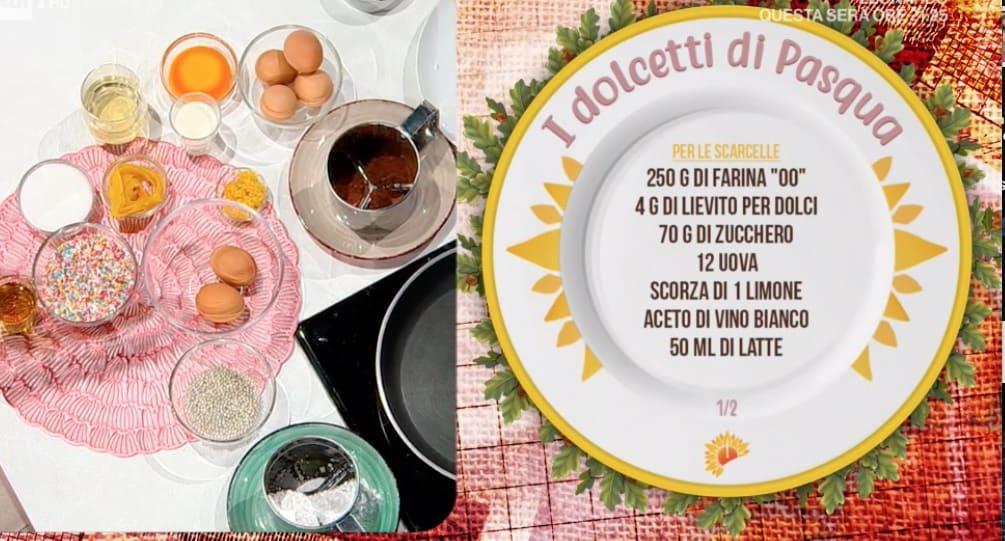 Scarcelle, le ricette dolci di Pasqua di Antonella Ricci