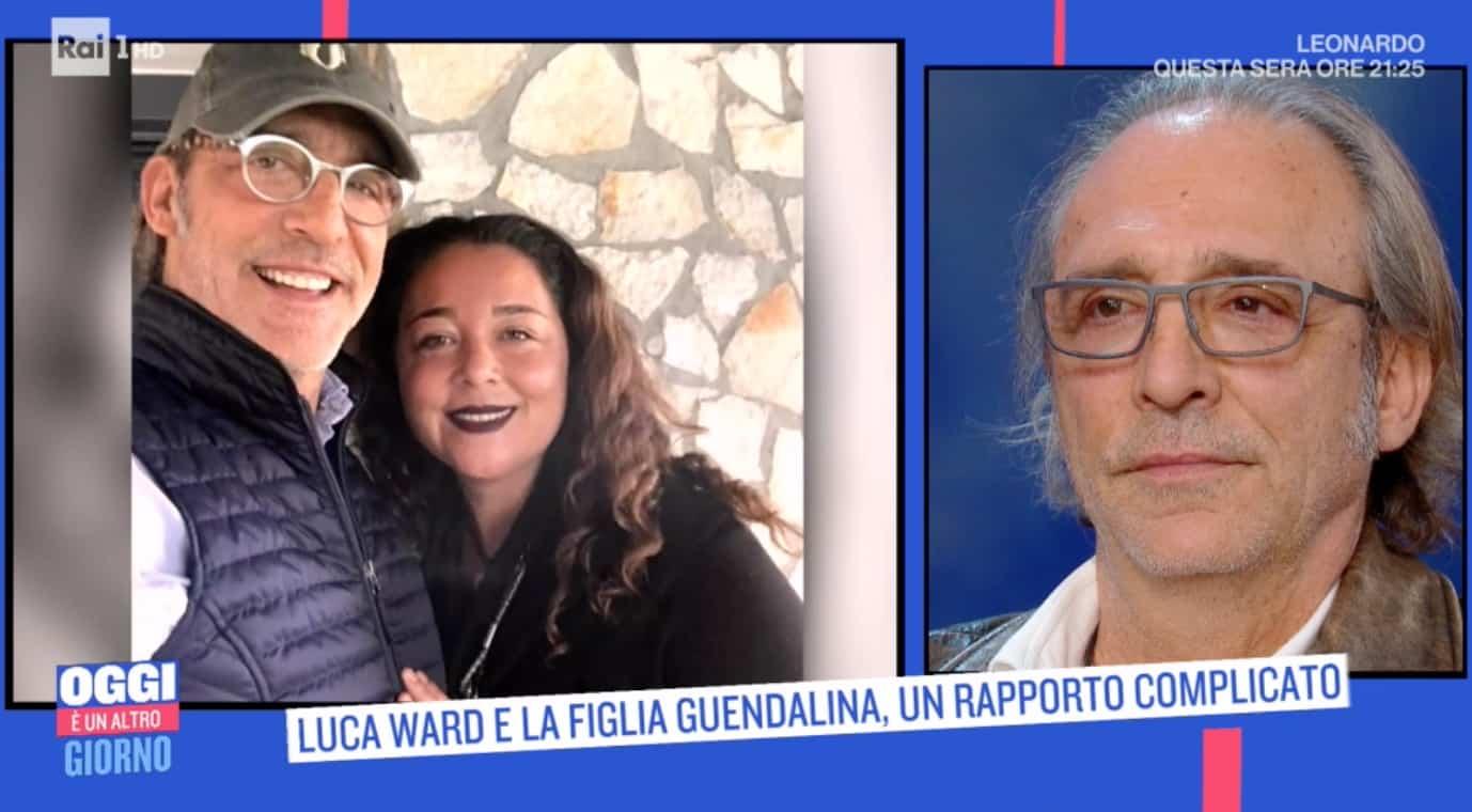 La prima figlia di Luca Ward non ha mai accettato la separazione e la nuova famiglia (Foto)