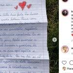 """La lettera di Mia a Francesco Facchinetti: """"Ho pianto come non facevo da anni"""""""