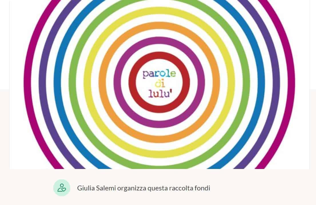 Giulia Salemi per il suo compleanno sostiene la fondazione Le parole di Lulù: come contribuire