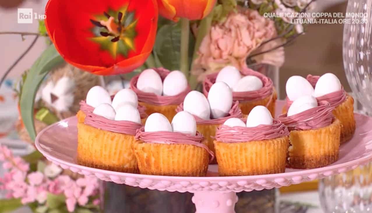 Mini cheesecake di Pasqua di Sara Brancaccio, le ricette di Pasqua