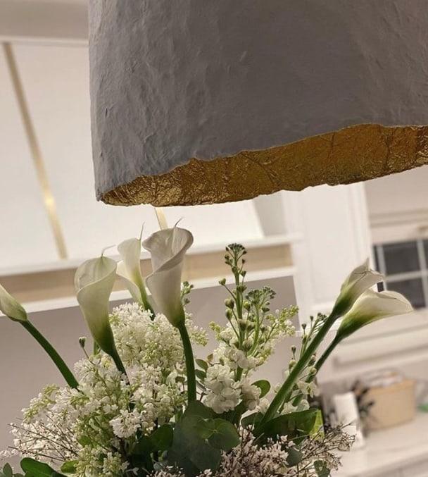 Alena Seredova: è bellissima la sua cucina bianca e oro (Foto)
