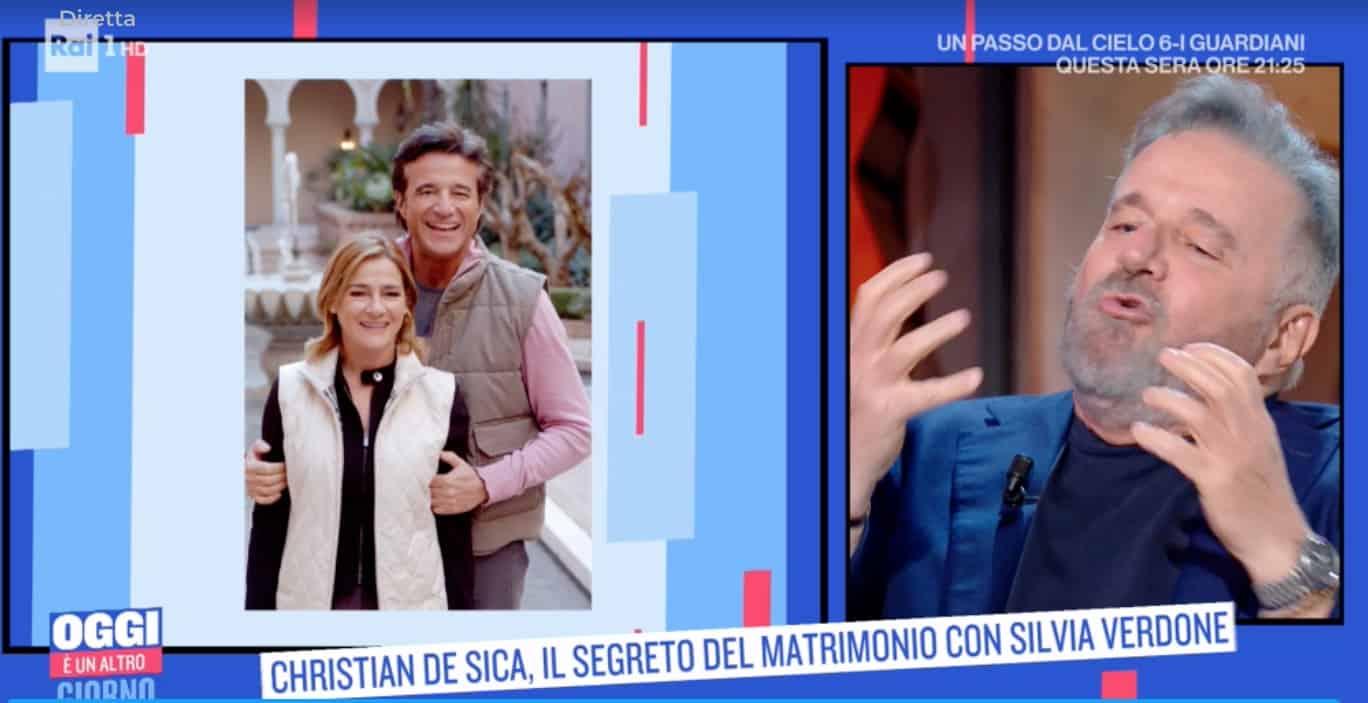 """La famiglia allargata di Christian De Sica: """"Mio padre è morto troppo presto""""  (Foto)"""