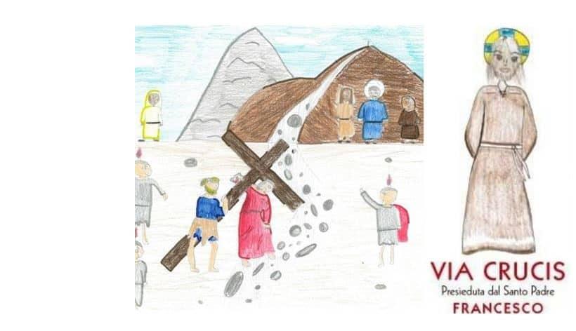La Via Crucis di Papa Francesco scritta da bambini e ragazzi per la Pasqua 2021: il libretto