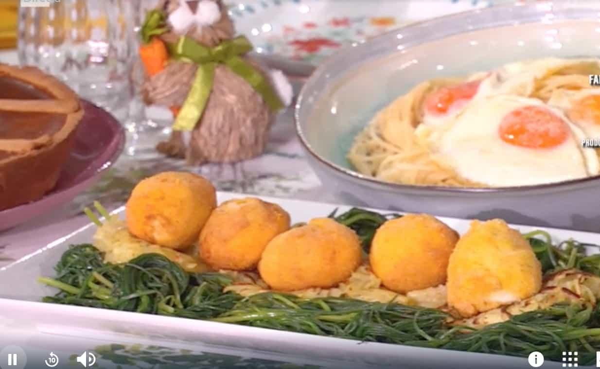 Uova alla monachina, la ricetta di Mattia Improta