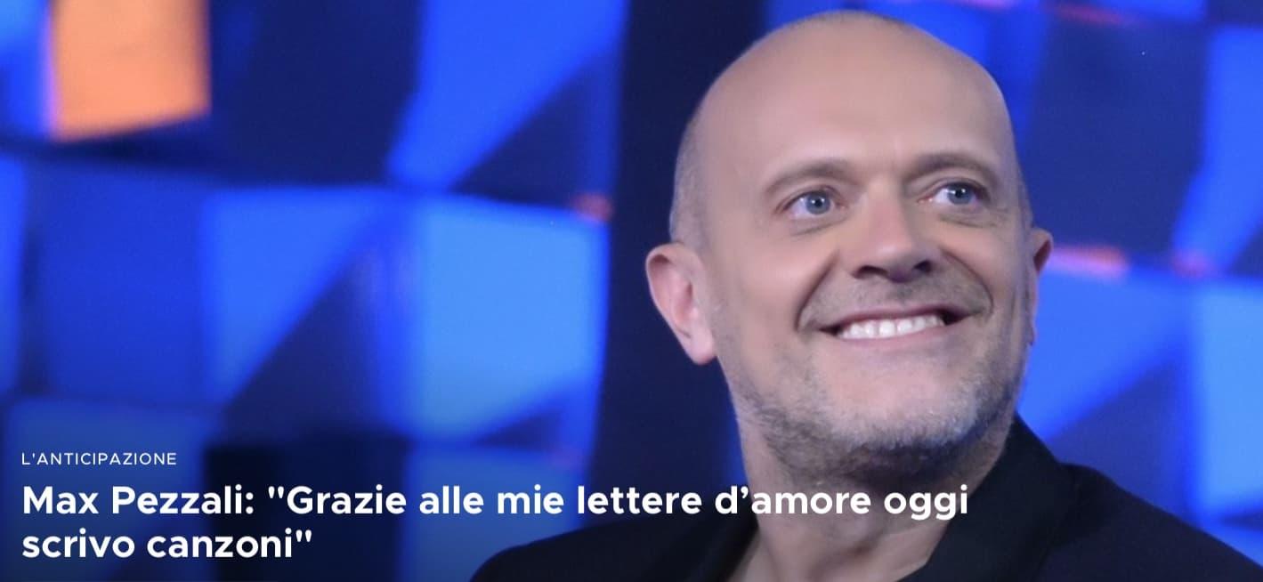 Max Pezzali a Verissimo racconta il suo decennio più bello
