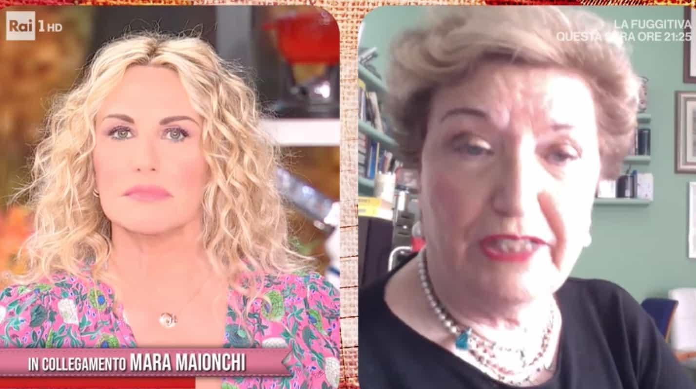 Mara Maionchi prende appunti in cucina con E' sempre mezzogiorno