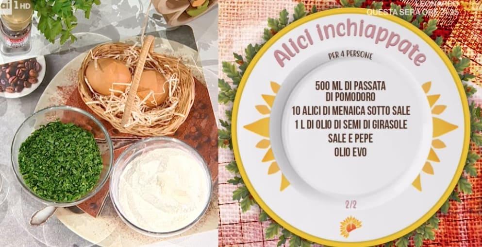 Alici inchiappate, la ricetta delle alici ripiene di Zia Cri