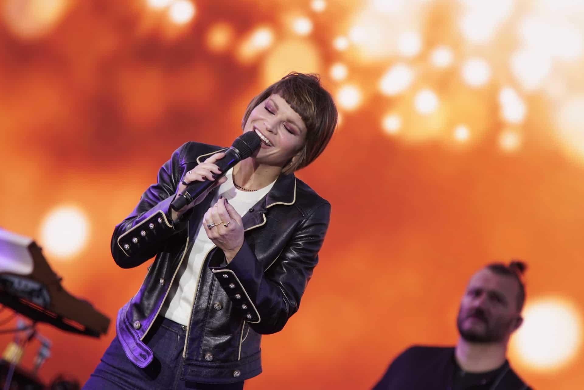 Alessandra Amoroso: il concerto drive in con i lavoratori dello spettacolo è un successo