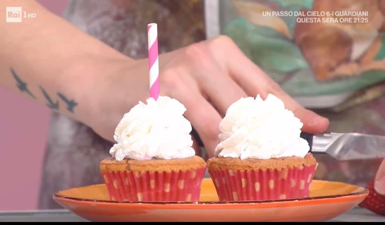 Cupcakes con frappè, la ricetta dolce di Sara Brancaccio
