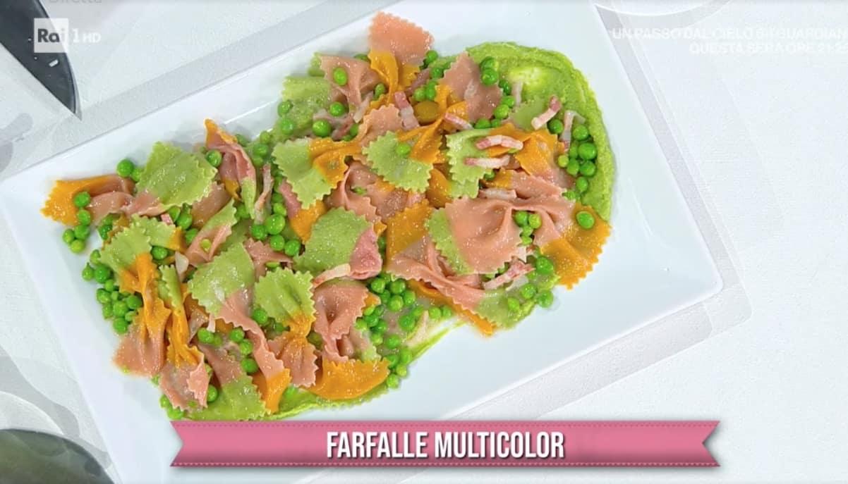 Farfalle multicolor, ricette di Antonella Ricci