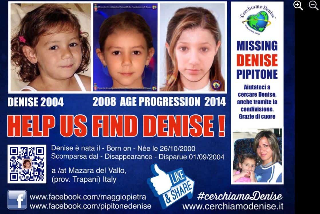 Denise Pipitone è ancora una ragazza scomparsa: le parole di mamma e papà