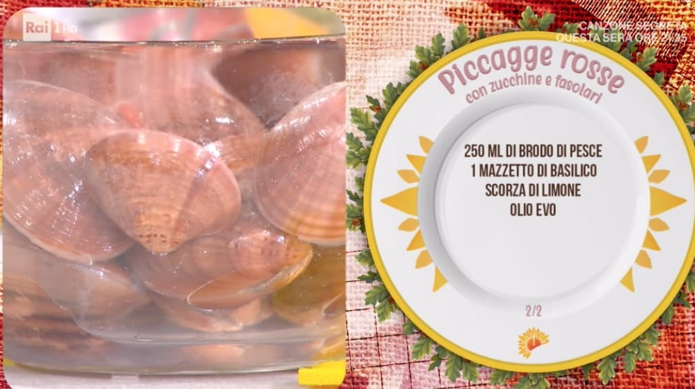 Piccagge rosse con zucchine e fasolari, la ricetta di Ivano Ricchebono