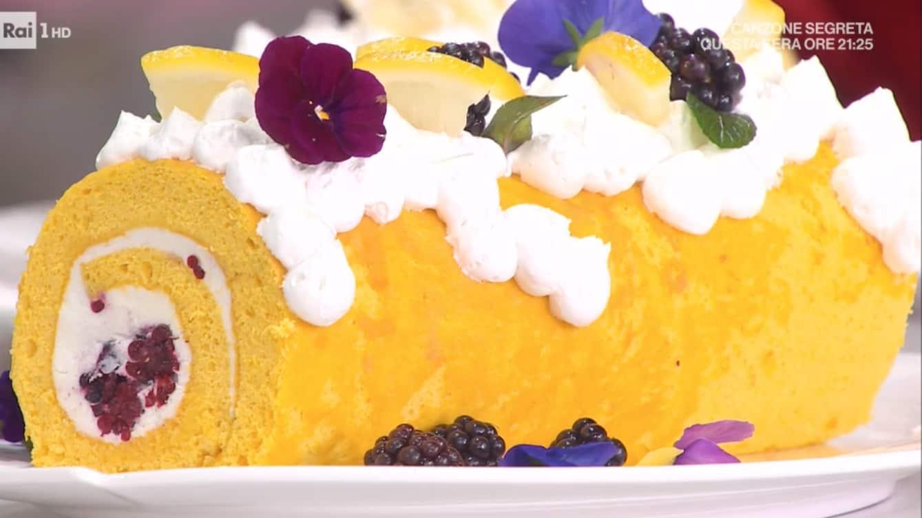 Rotolo primavera, la ricette del dolce di Natalia Cattelani