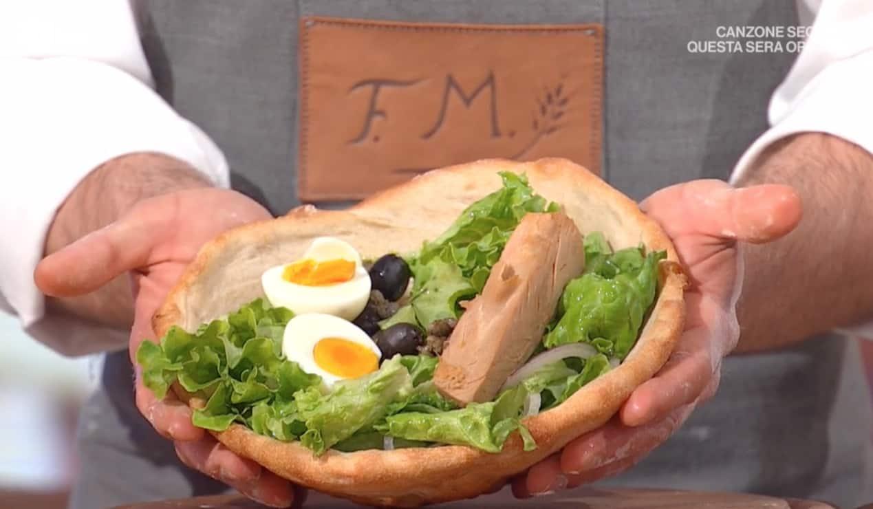 Cesto di pizza, la ricetta di Fulvio Marino