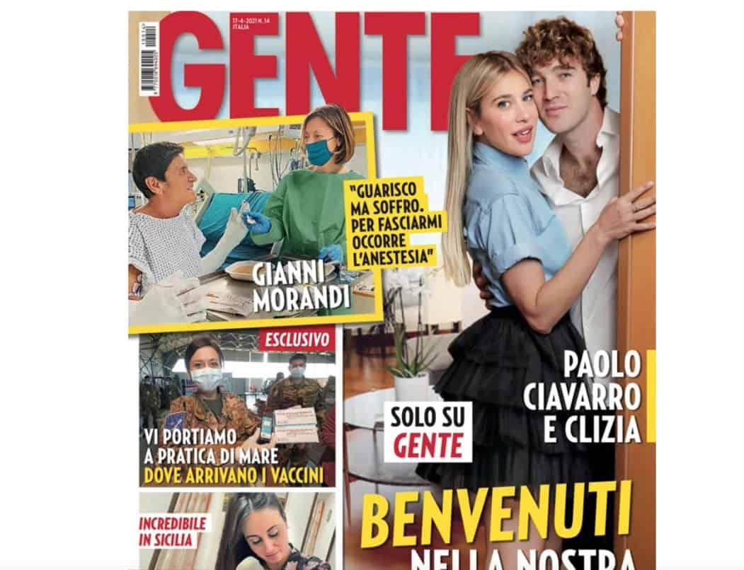 Clizia Incorvaia e Paolo Ciavarro mostrano la loro casa romana in attesa di un bebè (Foto)