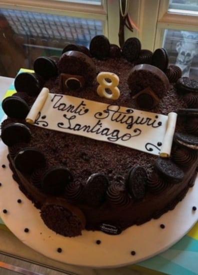 Per Santiago è la seconda festa di compleanno a casa con Belen (Foto)
