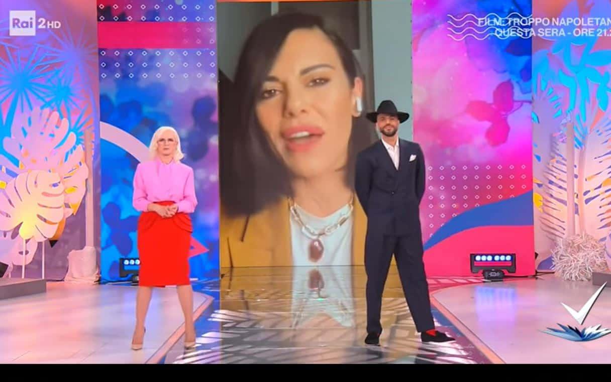 Bianca Guaccero ha il covid 19: l'annuncio in diretta a Detto Fatto